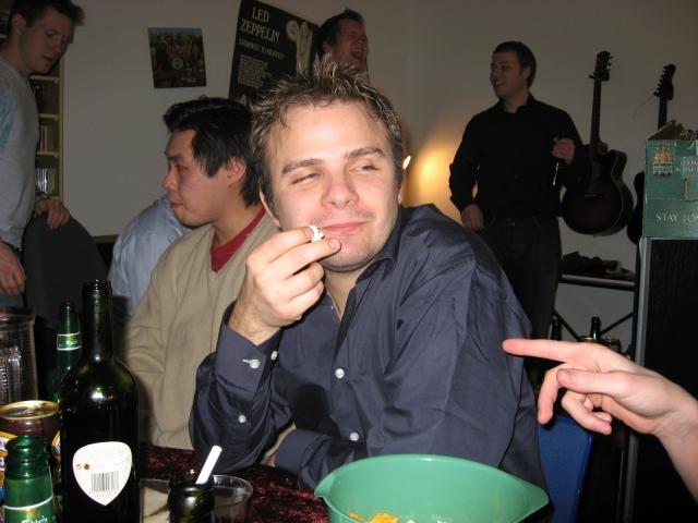 Fest ved Rasmus 20