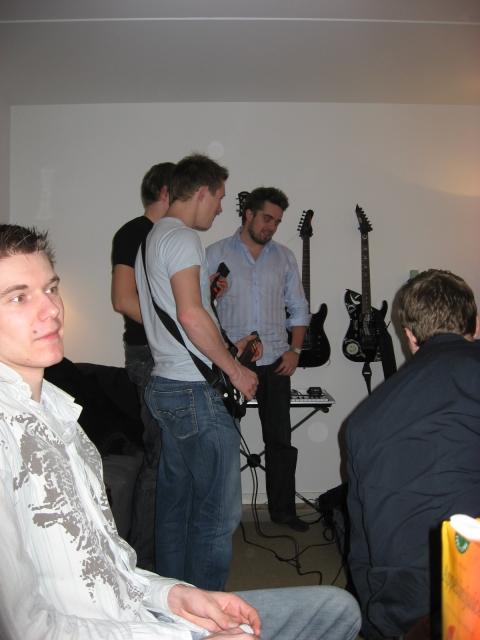 Fest ved Rasmus 9